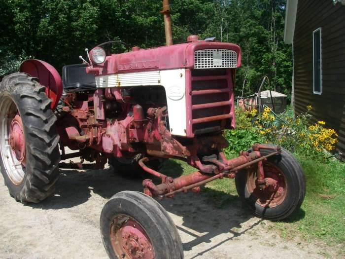 Ih 340 Utility Tractor Parts : Farmall parts